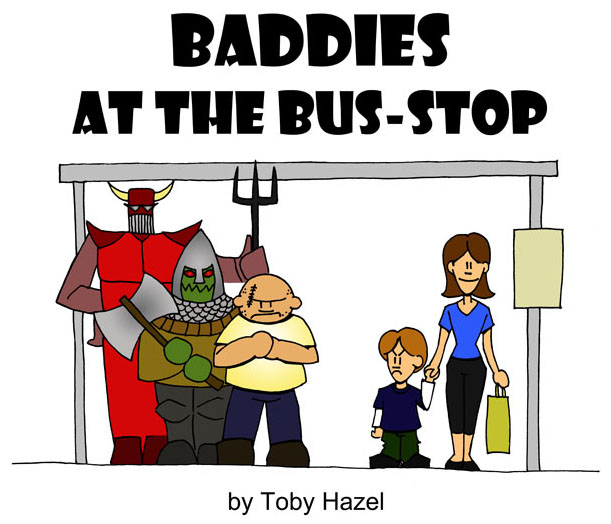 Baddies at the Bus-Stop cover